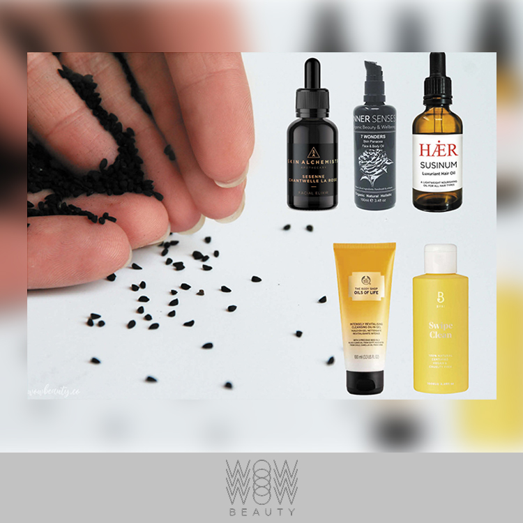 SUSINUM Luxuriant Hair Oil featured on WOW Beauty Ingredient Index: Black Seed Oil