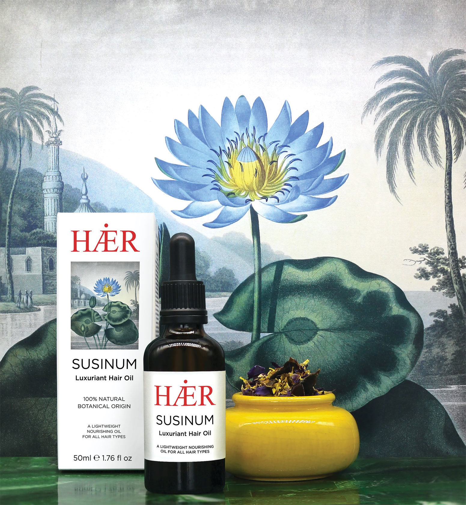 In the Spotlight: SUSINUM Luxuriant Hair Oil